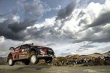 WRC - Video: Erleichterung bei Citroen nach Rallye Mexiko