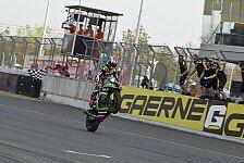 Jonathan Rea beim zweiten WSBK-Rennen in Thailand unschlagbar