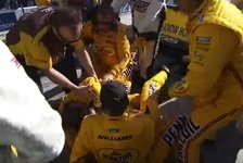 NASCAR - Video: Las Vegas: Kyle Busch geht auf Logano los