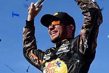 Martin Truex Junior gewinnt als erster Fahrer alle drei Stages in Las Vegas