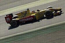 Formel 2, Testfahrten: Bestzeit von Norman Nato zum Abschluss