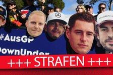Formel 1 Abu Dhabi, Strafen-Übersicht: Hülkenberg bestraft