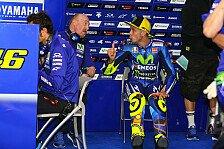 Sensordefekt: FP2-Zeit rettet Rossi beim Katar-GP in Q2