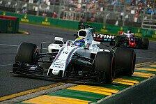 Durchwachsener Auftakt für Williams: FIA-Ärger, Stroll-Ausfall und Massa-Punkte