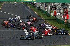 Formel 1 2018: Regeln, Kalender, Fahrer & Teams