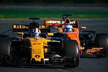 Formel 1 Australien: Hülkenberg verpasst Punkte für Renault
