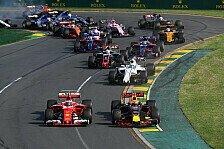 Formel-1-Rennkalender 2018: FIA verabschiedet finale Version