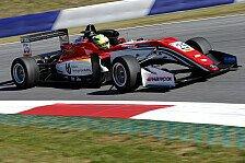 Formel 3 EM - Video: Mick Schumacher testet sein neues F3-Auto