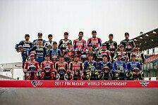MotoGP 2018: Alle Fahrer, alle Teams - so sieht das neue Starterfeld aus