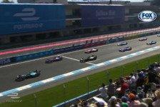 Formel E - Video: Highlights des Formel E Rennens in Mexiko