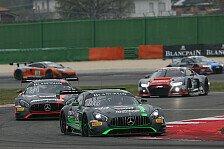 Blancpain GT Series - Dominik Baumann in Silverstone ohne Glück