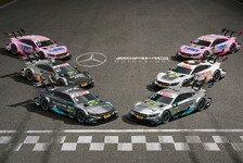 Mit Flow: Mercedes zeigt 2017er Autos für die DTM