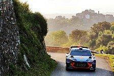 WRC - Video: Hyundai blickt auf den Korsika-Shakedown zurück
