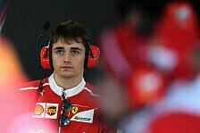 Sauber-Plan: Freie Trainings für Leclerc noch 2017, dann Cockpit