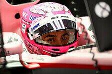 Force-India-Pilot Ocon überzeugt: Nur wegen Pech hinter Teamkollege Perez