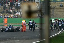 Formel 1 - Giovinazzi-Crash: Zu sehr am Limit