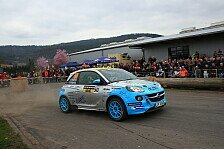 ADAC Opel Rallye Cup - Madsen gewinnt Auftakt in Hessen