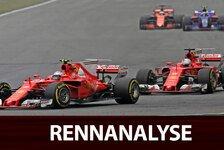 China GP Analyse: Wie Ferrari Vettels Siegchance eliminierte