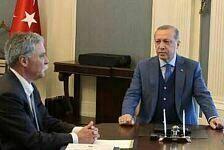 Türkei-Comeback im Istanbul Park? Hier plaudert Erdogan mit F1-CEO Chase Carey