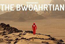 Netz-Kult um Kimi Räikkönen in Bahrain: Wüstenmarsch mit Sheriff Räikkönen