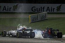Crash in Bahrain! Lance Stroll und Carlos Sainz zoffen sich um Schuldfrage