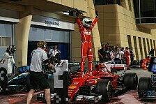 Bahrain GP: Ferraris Sebastian Vettel dank Sieg un