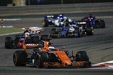 Formel 1, Bahrain GP: McLaren-Pilot Fernando Alonso ledert gegen Honda