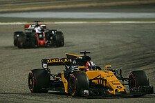 Formel 1, Bahrain: Hülkenberg trotz Platz neun sauer