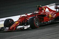 Ferrari-Pilot Kimi Räikkönen: 'Scheiß-Start' und Strategie kosten P3 in Bahrain