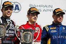 Formel 2 - Bilder: Bahrain - 1. & 2. Lauf