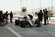 Live-Ticker: F1-Testfahrten in Bahrain