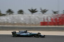 Bahrain-Test Tag 2: Mercedes marschiert, Ferrari laboriert, McLaren fährt
