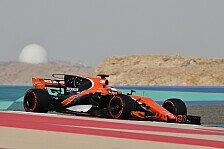 McLaren-Pilot Stoffel Vandoorne nach Top-Test in Bahrain: Das reicht nicht!