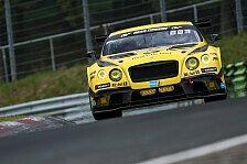 Nürburgring: Bentley bringt drittes Fahrzeug zum 24-Stunden-Rennen