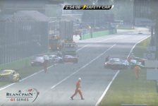 Blancpain GT Series - Video: Massenkarambolage beim Blancpain Endurance-Rennen in Monza