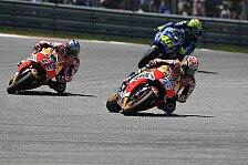 GP-Analyse Austin: So fing Rossi Pedrosa noch ab