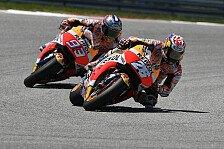 Spielchen Marc Marquez vs Dani Pedrosa in Jerez-Quali: Das sagt das Honda-Duo