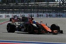 Formel 1, Russland: McLaren-Pilot Fernando Alonso erwartet keine Wunder