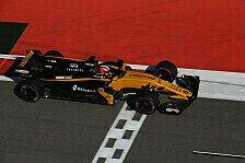 Renault-Pilot Hülkenberg in Russland von Force India geschlagen