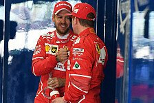 Sebastian Vettel und Co. adeln Ferraris Kimi Räikkönen: Zweifel gibts nicht