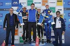 Formel 3 EM - Lando Norris gewinnt Duell gegen Teamkollegen