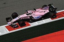 Formel 1, Barcelona: Sergio Perez erklärt Leistungssprung von Force India