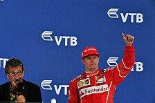 Kimi Räikkönens Russland-Renaissance: Jetzt giert das Ferrari-Ass nach Sieg