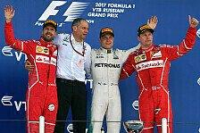 Formel 1 - Bilder: Russland GP - Podium