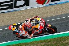 Honda-Dominanz am Jerez-Freitag: Marc Marquez tritt auf Euphorie-Bremse