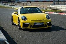 Auto - Neuer Porsche 911 GT3 mit Nordschleifen-Bestmarke
