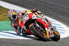 Jerez-Pole-Position für Dani Pedrosa, drei Hondas in Startreihe eins
