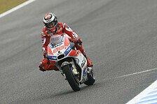 Jorge Lorenzo mit neuer Bremstechnik in Jerez zum Erfolg