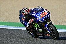 Michelin-Tests in Jerez: Vinales vor Marquez und Pedrosa, Rossi auf 21