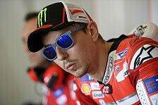 Jorge Lorenzo nach Ducati-Podium stolz: Man kann an mir nicht zweifeln